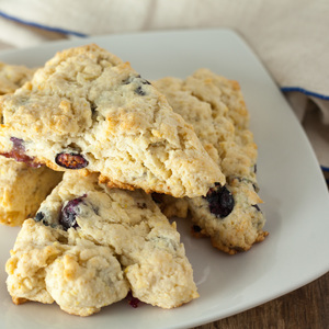 Voting thumbnail lemon blueberry scones