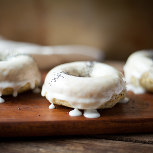 Voting thumbnail lemon poppyseed donuts