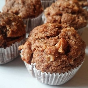 Voting thumbnail apple pie muffins